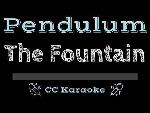 Pendulum   The Fountain CC Karaoke Instrumental