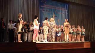 Награждение победителей детского конкурса
