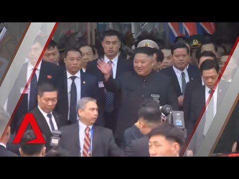 Trump-Kim summit: Kim Jong Un arrives in Vietnam