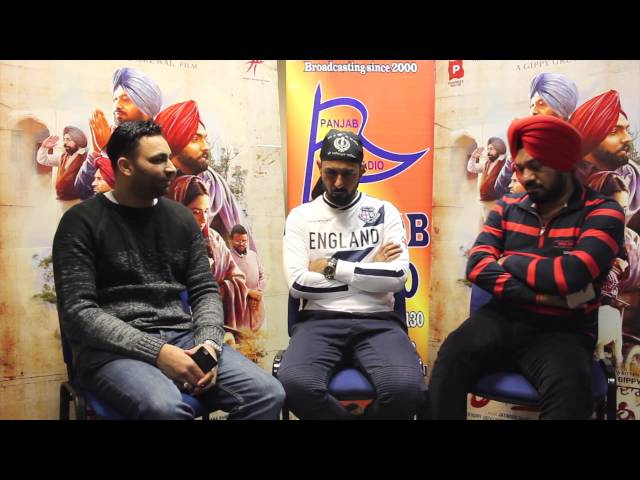 ARDAAS - Gippy Grewal & Gurpreet Ghuggi Interview LIVE at Panjab Radio with Vishal Johal