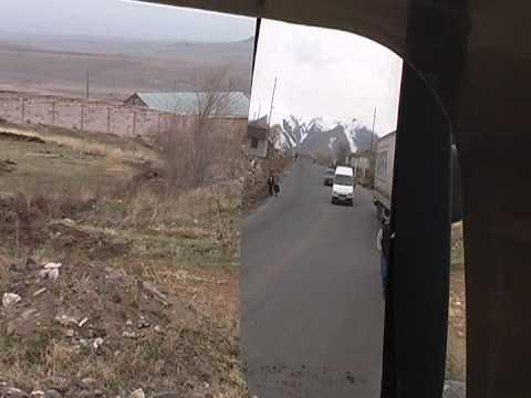Автостопом по Армении - Часть 1