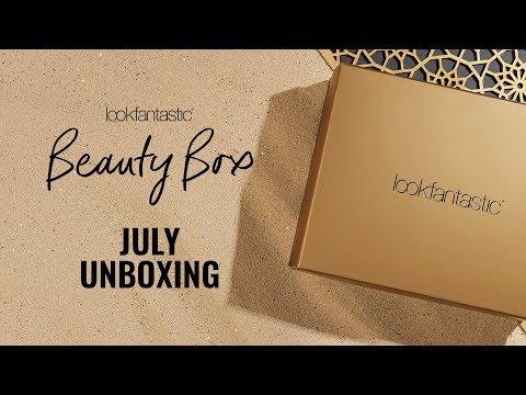 July Unboxing | Lookfantastic Beauty Box
