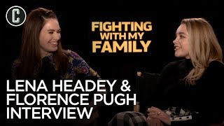 Lena Headey & Florence Pugh Fighting With My Family Interview