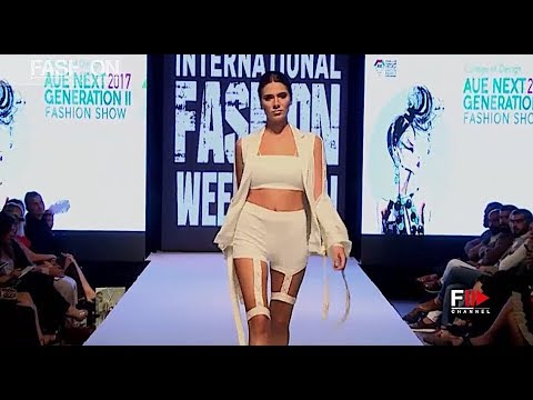 AMERICAN UNIVERSITY in the Emirates - SS 2018 IFW Dubai - Fashion Channel