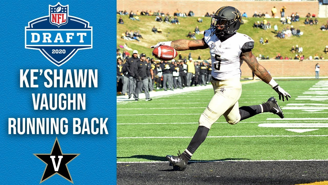 Ke'Shawn Vaughn | Running Back | Vanderbilt | 2020 NFL Draft Profile