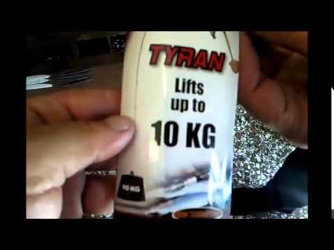 Ron Thompson Tyran Fishing Rod Test 10kg Drag