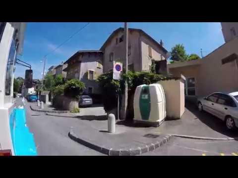 EVIAN City Tour (France) / Tour de ville - EVIAN-les-BAINS (France)