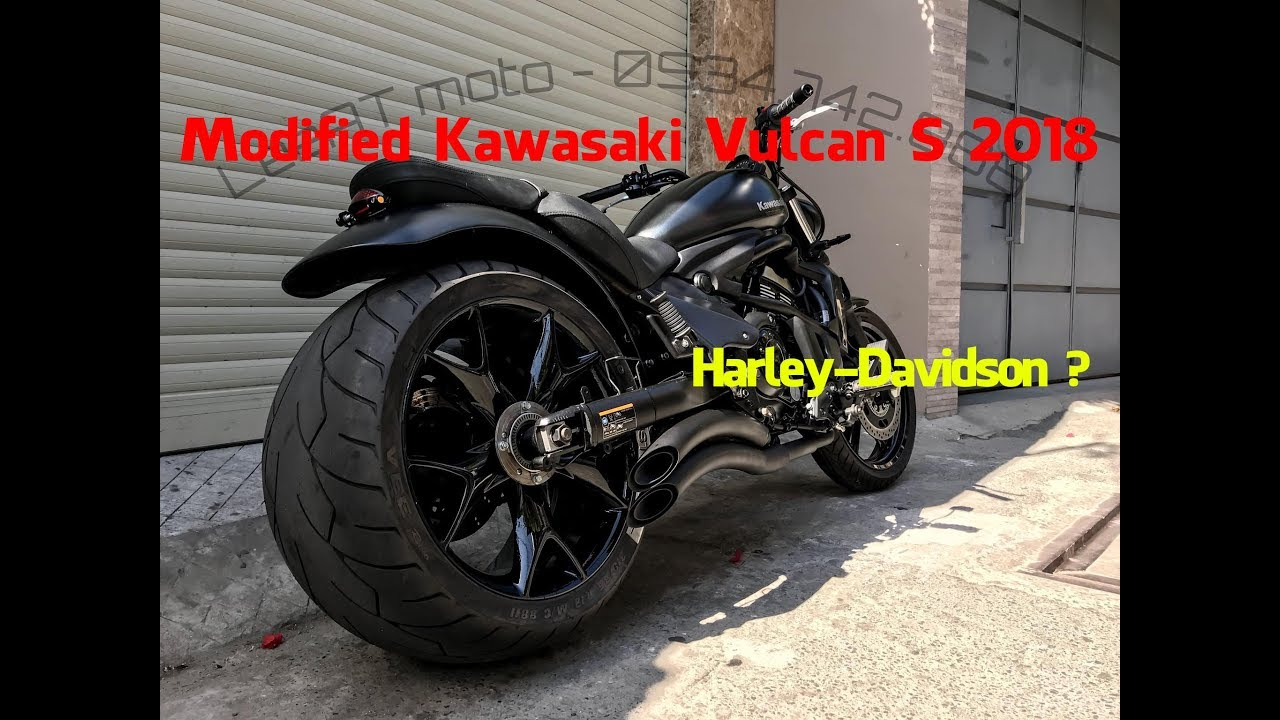 Modified Kawasaki Vulcan S 2018 Look Like Harley Davidson By Leeat