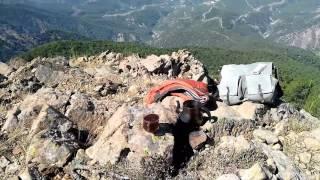 Amanos Dağı zirvesinde kahve keyfi