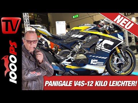 Ducati Panigale V4S Carbon - 12 Kilo leichter - Danke Ilmberger