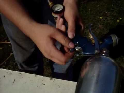 Quick & Easy Way to Clean a HVLP Spray Gun