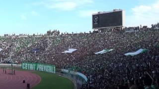 Raja vs Etoile Sportive du Sahel 2 - 0 , Tifo Curva Sud