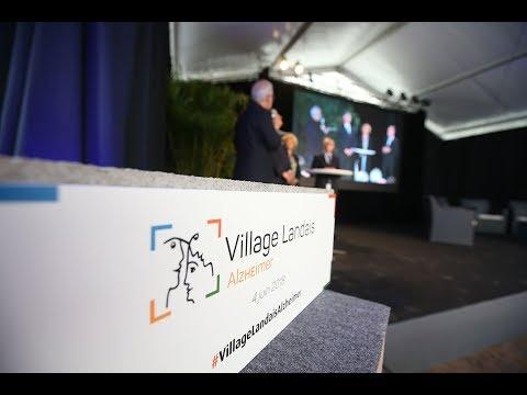 Cérémonie de la pose de la première pierre du Village Landais Alzheimer à Dax