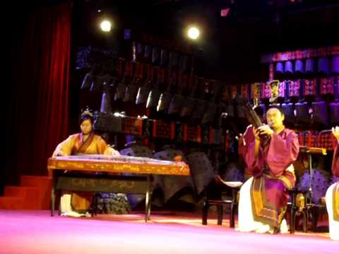 Concert on Ancient Chinese Instruments at Hubei Provincial Museum in China