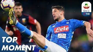 Mertens goal makes Juve wait for title | Napoli 1-1 Genoa | Top Moment | Serie A