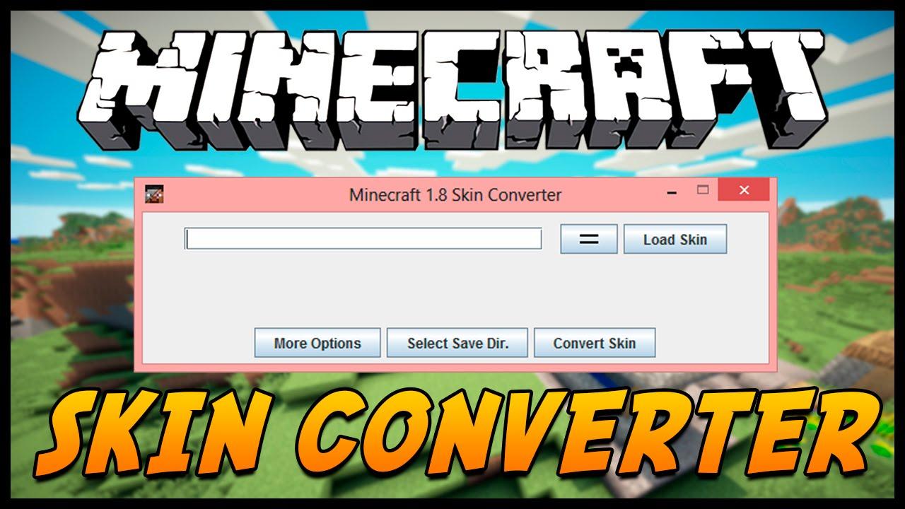 Minecraft 1 8 Skin Converter