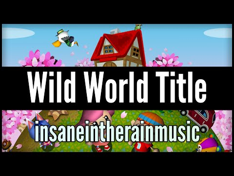 Animal Crossing Wild World: Title Theme - Jazz Cover || insaneintherainmusic