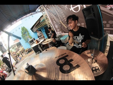 DEAD WITH FALERA - Ambigu LIVE at Purbalingga (Drumview)