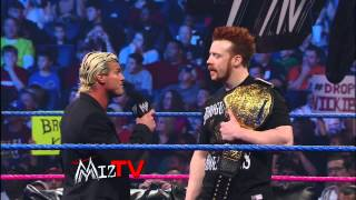Intercontinental Champion The Miz talks to World Heavyweight Champi...