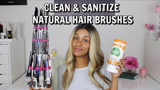 How I Clean Sanitize & Maintain My Natural + Synthetic Makeup Brushes