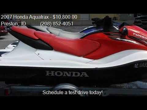2007 Honda Aquatrax for sale in Preston, ID 83263 at MDI AU