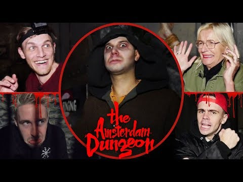 ENGE MOMENTEN In The AMSTERDAM DUNGEON! (met LINKTIJGER, IRMA KNOL, DON KAAKLIJN & MILAN)