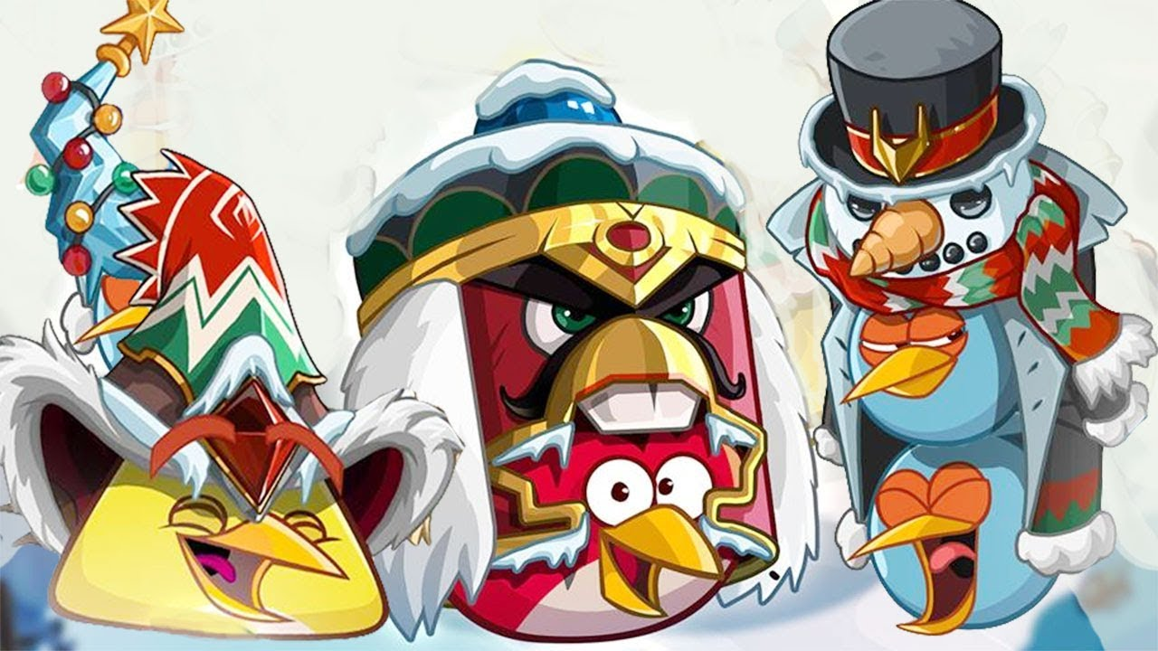 christmas wizard class unlock chest angry birds epic event shadow of the tinker titan part 3 - Christmas Angry Birds