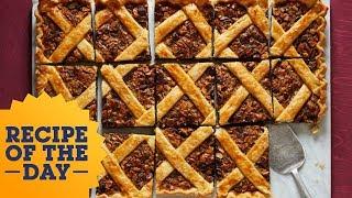 Chocolate-Nut Slab Pie | Food Network