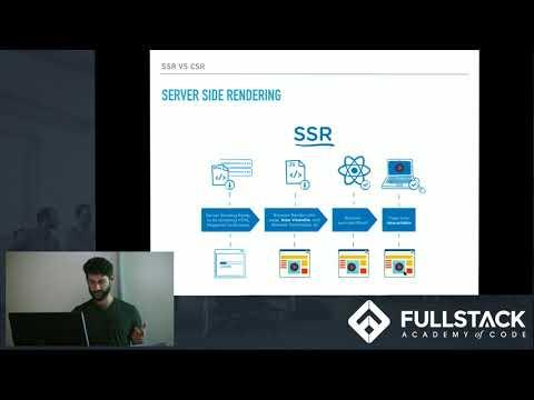 Tech Talk: Client Side vs. Server Sider Rendering