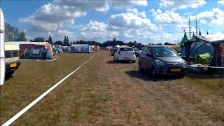 Huntenpop 2018 Camping Hyperlapse