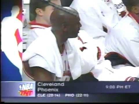 Michael Jordan 1998 Vs Sonics  - 40 Points With The Flu
