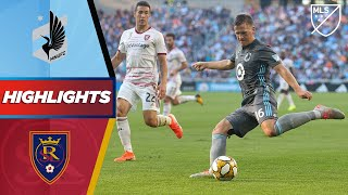 Minnesota United FC vs. Real Salt Lake | HUGE Game for the Western Conference Playoffs | HIGHLIGHTS