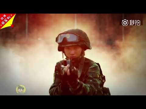 Wonder Women: A glimpse of China's PLA female soldiers conduct drills on training field