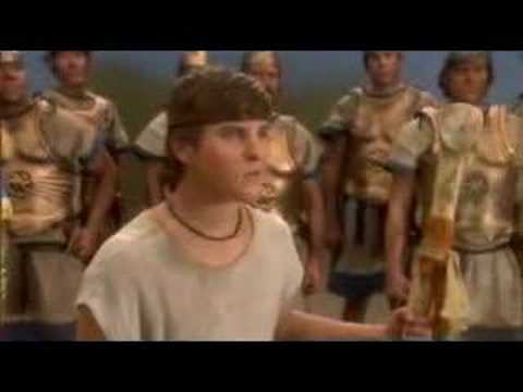 """David and Goliath - musical from Liken - clip """"I Am David"""""""