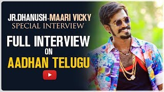 Jr Dhanush - Tik Tok Star Interview Promo | Maari Vicky Interview | Vicky Vivek