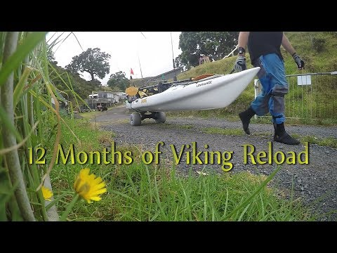 12 Months Highlights Of My Viking Profish Reload - New Zealand Kayak Fishing - Snapper And Kingfish