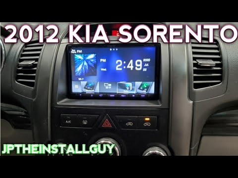 2012 kia sorento radio removal and replacement