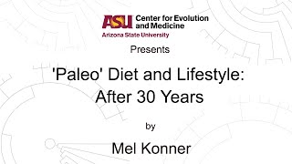 """In 1985 s. boyd eaton and konner published an article the new england journal of medicine called """"paleolithic nutrition: a consideration it's nature an..."""