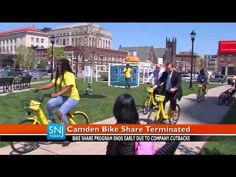 Bike-Sharing Service, ofo, Abruptly Ends Program in Camden | SNJ Today News