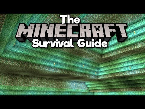 Draining The Ocean Monument! ▫ The Minecraft Survival Guide (Tutorial Lets Play) [Part 41]