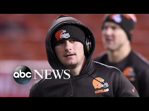 Johnny Manziel, Once Top NFL Prospect Turned Party Boy