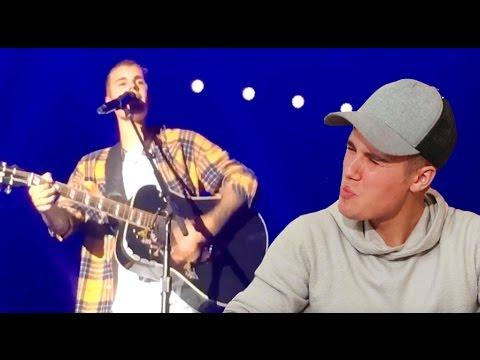 Justin Bieber FORGETS Lyrics On Stage!