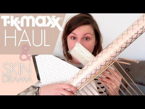 TK Maxx Haul / Skin Drama
