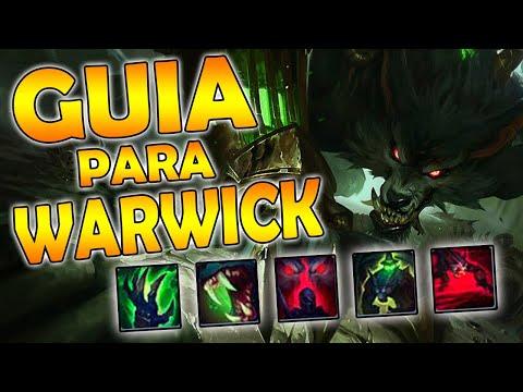 GUIA DE WARWICK JG | COMO JUGAR WARWICK | HABILIDADES, RUNAS, OBJETOS, HECHIZOS Y COMBOS