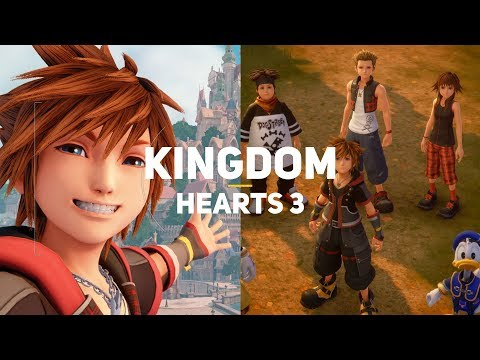 Kingdom Hearts 3.