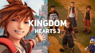 Kingdom Hearts 3. Обзор