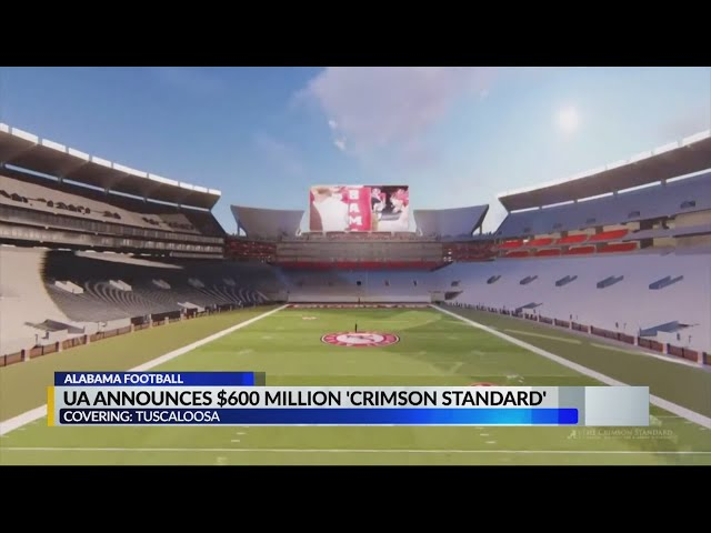 Alabama fans are excited about the Crimson Standard project