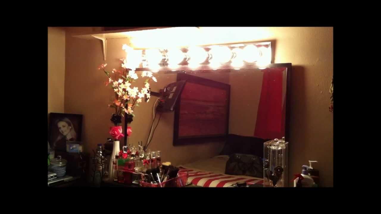 Mirror Lights Vanity