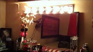 Homemade Makeup Vanity Lights