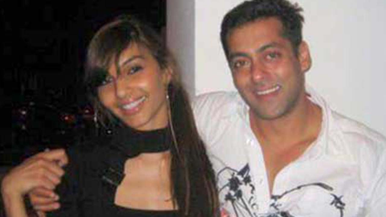 Salman Khan with Girlfriend